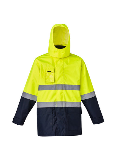 Syzmik - ZJ220 - Mens Hi Vis Basic 4 in 1 Waterproof Jacket