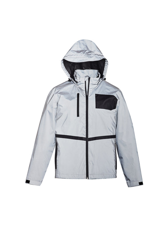 Syzmik ZJ380 Unisex Streetworx Reflective Waterproof Jacket at National Workwear Gold Coast Australia