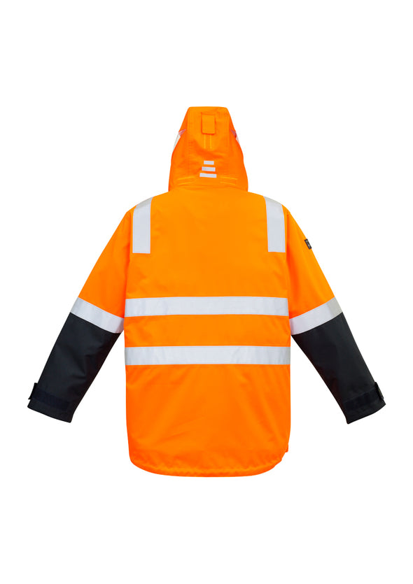 Syzmik - ZJ532 - Mens Hi-Vis 4 in 1 Waterproof Jacket