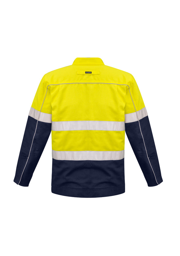 Syzmik - ZJ590 - Mens Hi Vis Cotton Drill Jacket