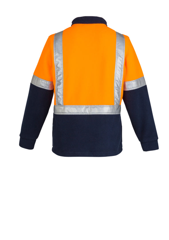 Syzmik - ZT462 - Mens Hi Vis Fleece Jumper - Shoulder Taped