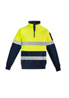 Syzmik - ZT567 - Mens Hi Vis 1/4 Zip Pullover - Hoop Taped