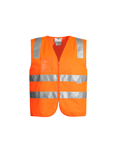Syzmik Workwear ZV998 Unisex Hi-Vis Full-Zip Vest at National Workwear Australia.