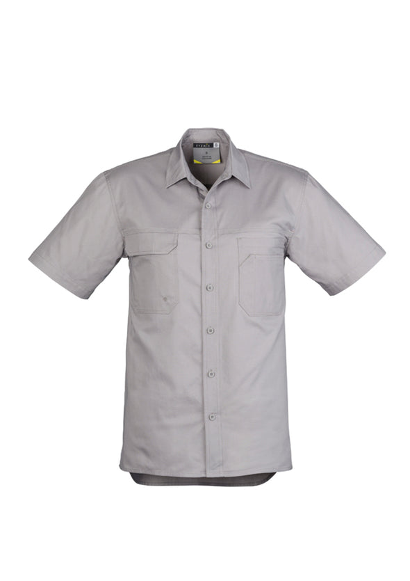 Syzmik - ZW120 - Mens Light Weight Tradie S/S Shirt