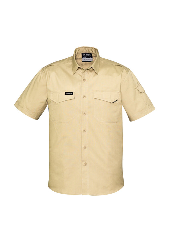 Syzmik - ZW405 - Mens Rugged Cooling Mens S/S Shirt