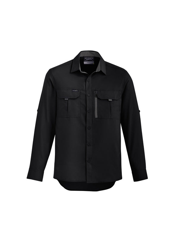 Syzmik - ZW460 - Mens Outdoor L/S Shirt