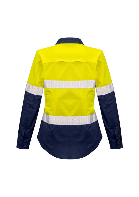 Syzmik - ZW720 - Womens Rugged Cooling Taped Hi Vis Spliced Shirt