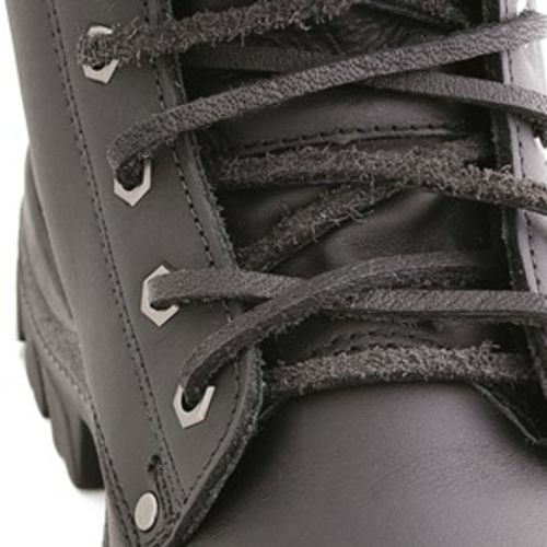 Steel Blue - A-000057 - Leather Laces