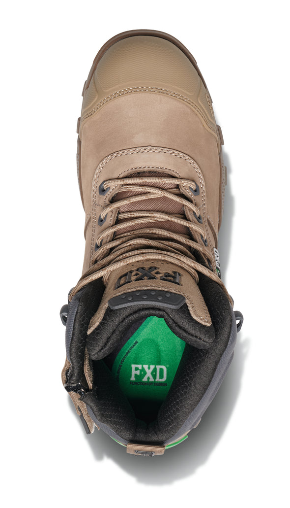 FXD Workwear WB-2 Work Boot Stone at National Workwear Gold Coast Australia.