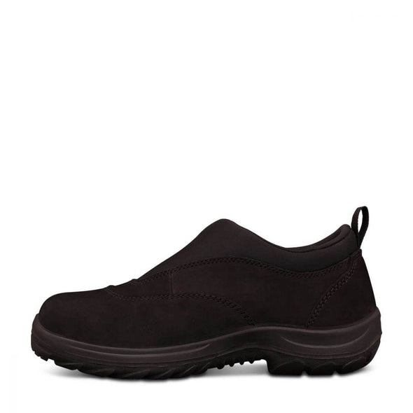 34610 Oliver Black Slip-On Sports Shoe - National Workwear Australia