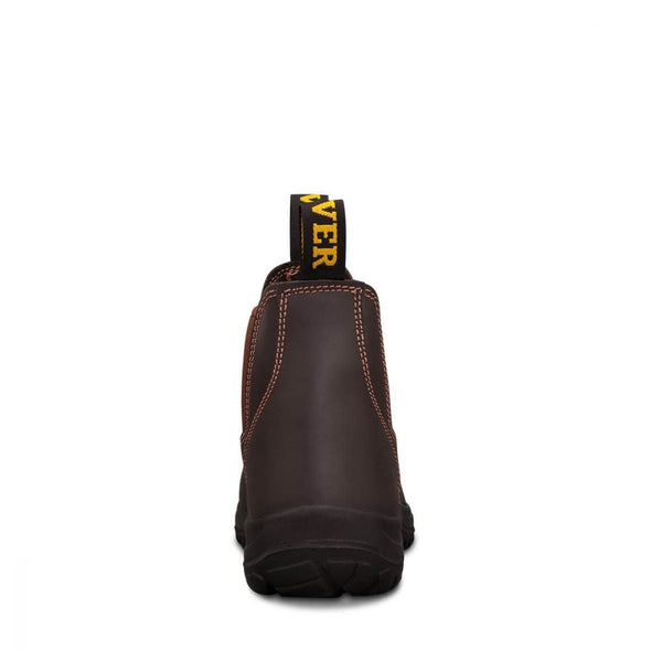34626 Oliver Claret Elastic Sided Boot - National Workwear Australia