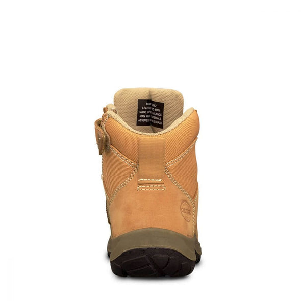 34662 Oliver Wheat Zip Sided Ankle Boot - National Workwear Australia
