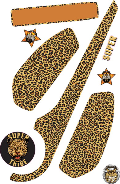 Super73 Decal Leopard Pattern