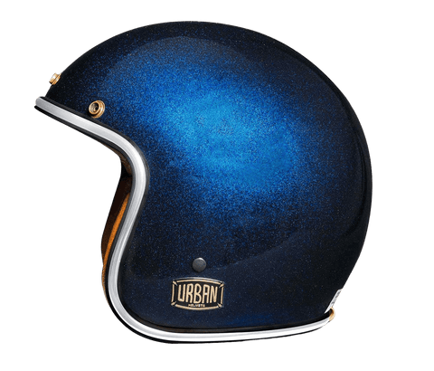 "Blue Flake  Helmet Vintage Open Face ""Electric bike helmet""""Electric Motorcycle helmet"""