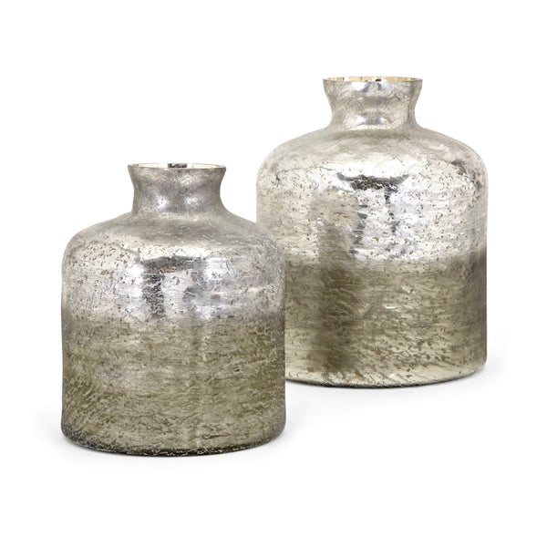 Zaara Ombre Vases - Set of 2 - Ruby and Company