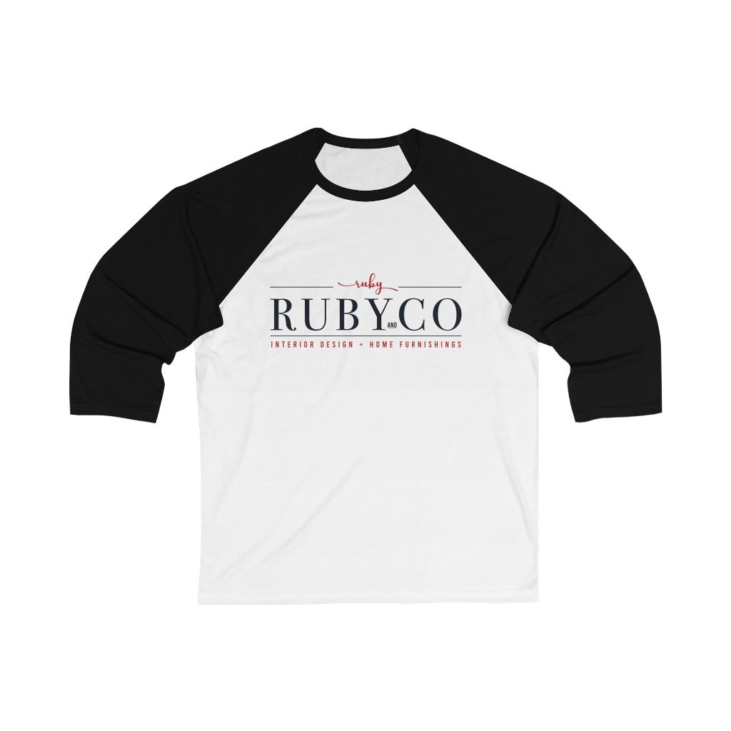 Ruby & Co 3/4 Sleeve Baseball Tee - Ruby and Company