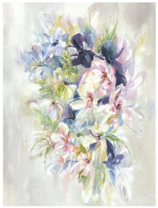 "Blossoming Power (30"" x 40"") - rubyandcompanyqc"