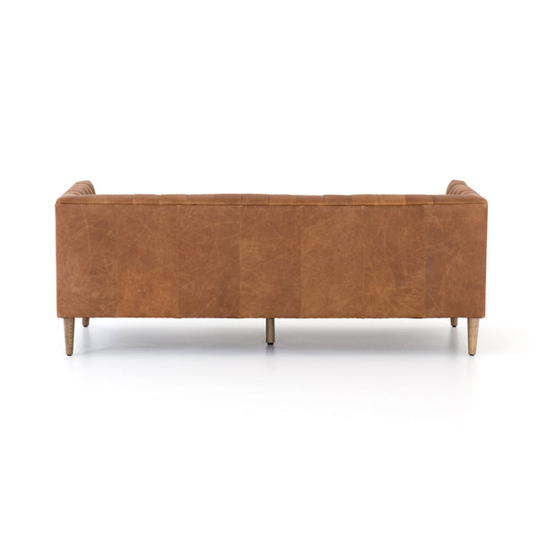 Williams Leather Sofa - rubyandcompanyqc