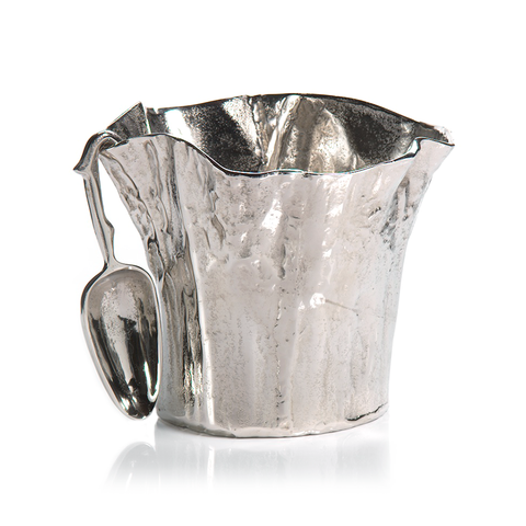 Aluminum Ice Bucket with Scoop - rubyandcompanyqc