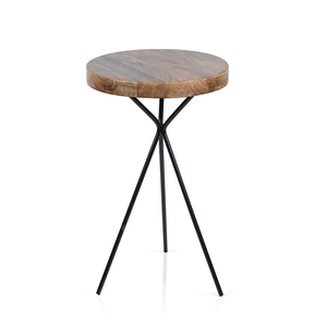 Heritage Mango Wood Cocktail Table - rubyandcompanyqc