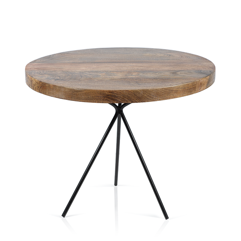 Heritage Mango Wood Coffee / Side Table - rubyandcompanyqc
