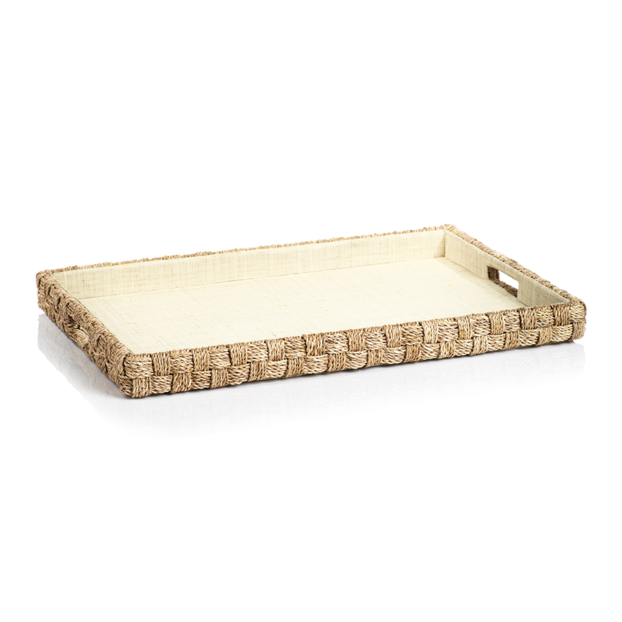 Abaca Rope Serving Tray - rubyandcompanyqc