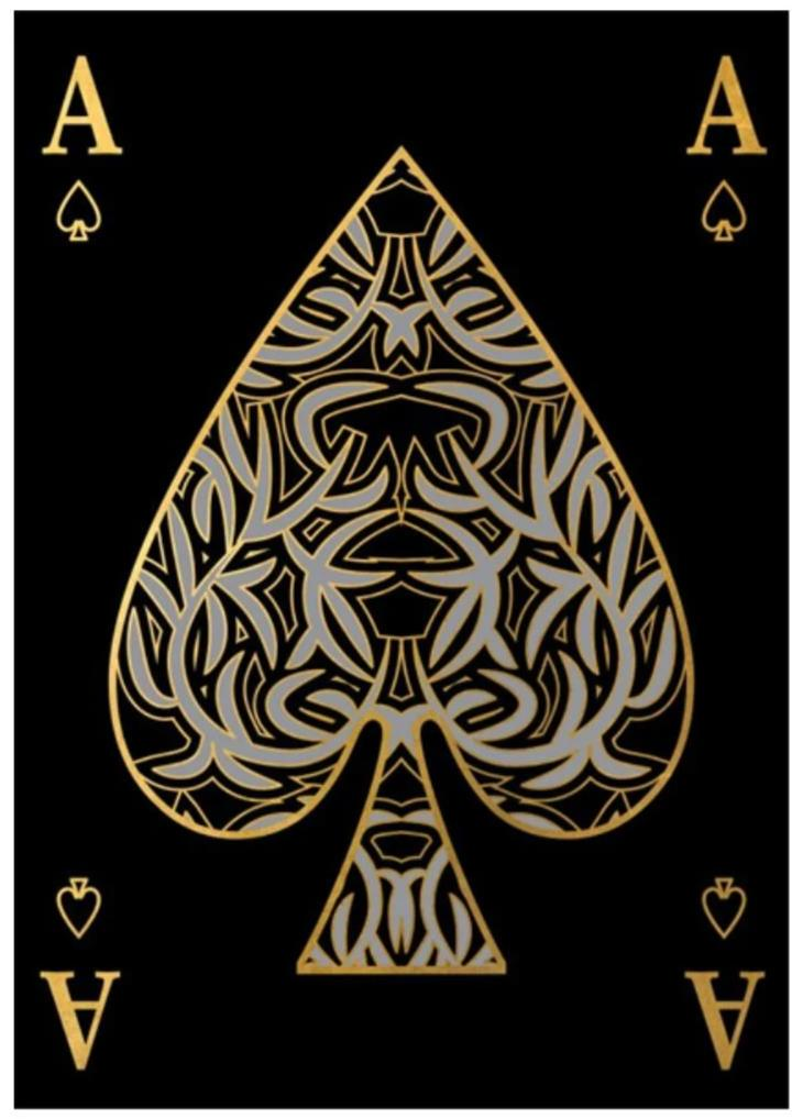"Ace of Spades (24"" x 34"") - Ruby and Company"
