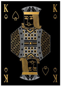 "King of Spades (24"" x 34"") - Ruby and Company"