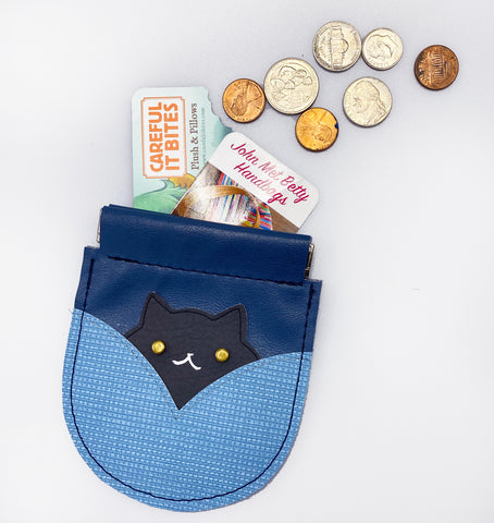 Kitty Coin Purses - Collaboration with Careful It Bites!