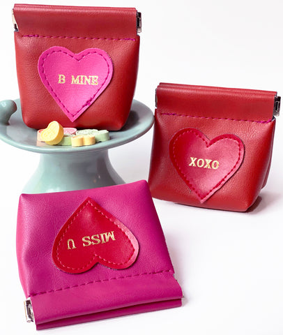 Be Mine Coin Purses