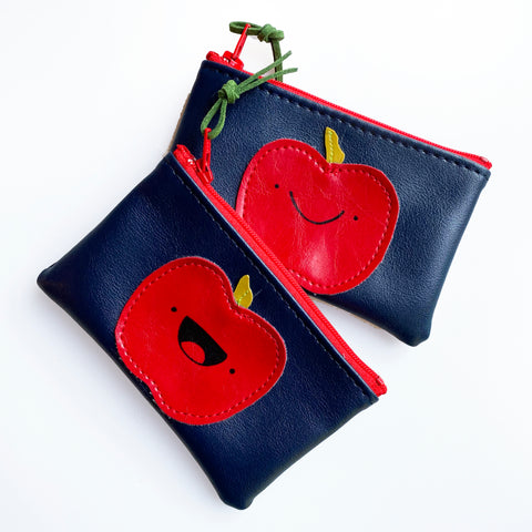 Apple (Mask Sized) Zip Pouch