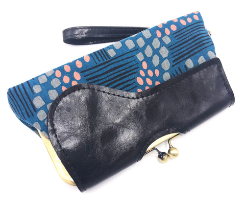 Audrey Clutch Featuring Vegan Leather + Jen Hewett Imagined Landscapes