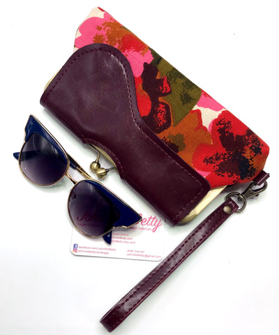 Vintage Floral Audrey Clutch - Ready To Ship