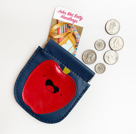 Apple Snap Pouch
