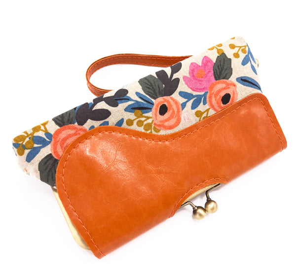 Floral Audrey Clutch Ready To Ship