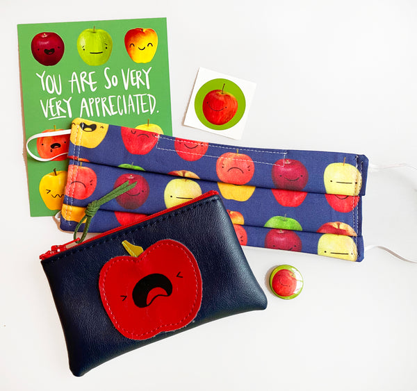 Screaming Apple Pouch