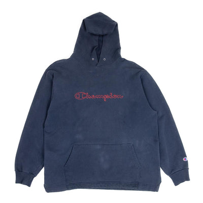 Sweatshirt Reverse Weave Champion - Big Logo Red & Navy