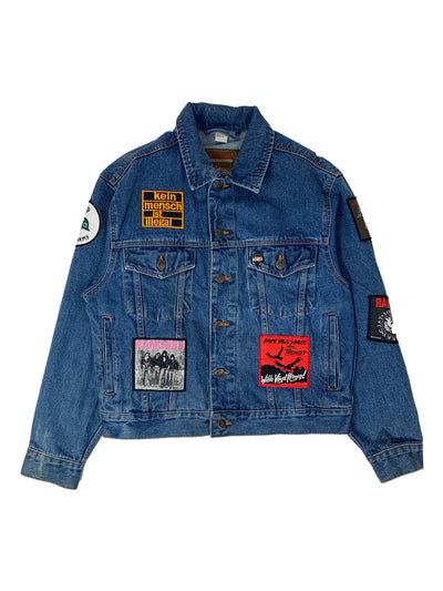 Veste en Jean - Patch Rock