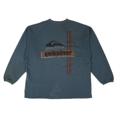 Sweatshirt Quicksilver - Blue Faded