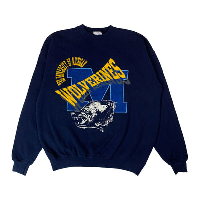 Sweatshirt College Michigan Wolverines - Navy