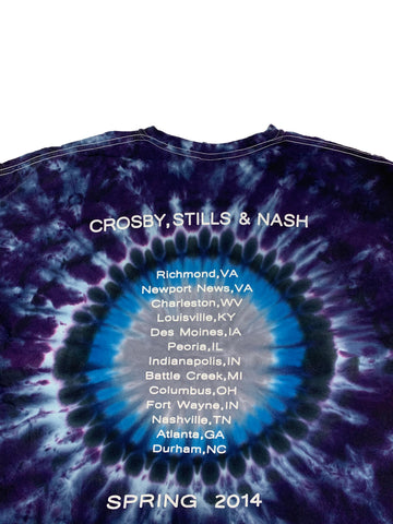 T-shirt Crosby Stills Nash - Spring 2004