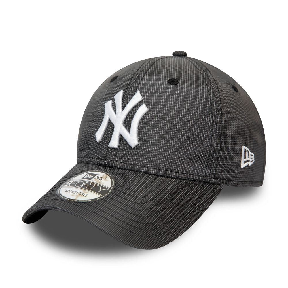 Casquette New Era 9FORTY Ripstop New York Yankees grise 12489997
