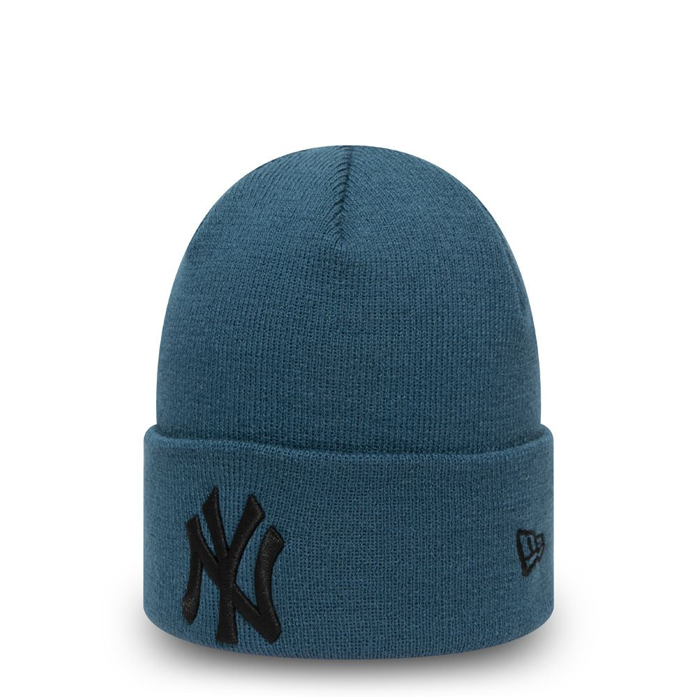 Bonnet New Era Cuff Knit New York Yankees bleu 12490155