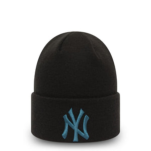 Bonnet New Era Cuff Knit New York Yankees noir 12490156