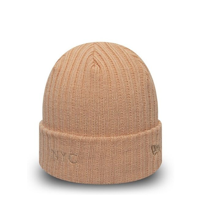 Bonnet pour femme New Era Ribbed Cuff NYC rose 12134634