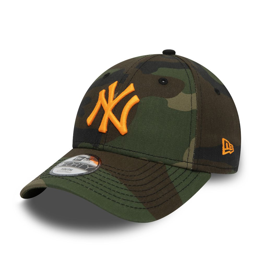 Casquette Enfant Youth New Era 9FORTY NY Yankees camouflage 12381205