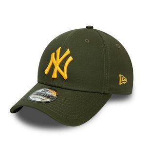 Casquette New Era 9FORTY Colour Essential NY Yankees olive 60081113