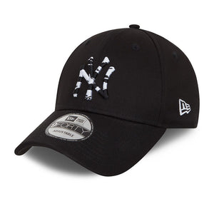 Casquette New Era 9FORTY Camo Infill New York Yankees noire 60081222