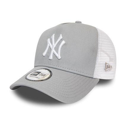 Casquette New Era TRUCKER A Frame Essential New York Yankees grise