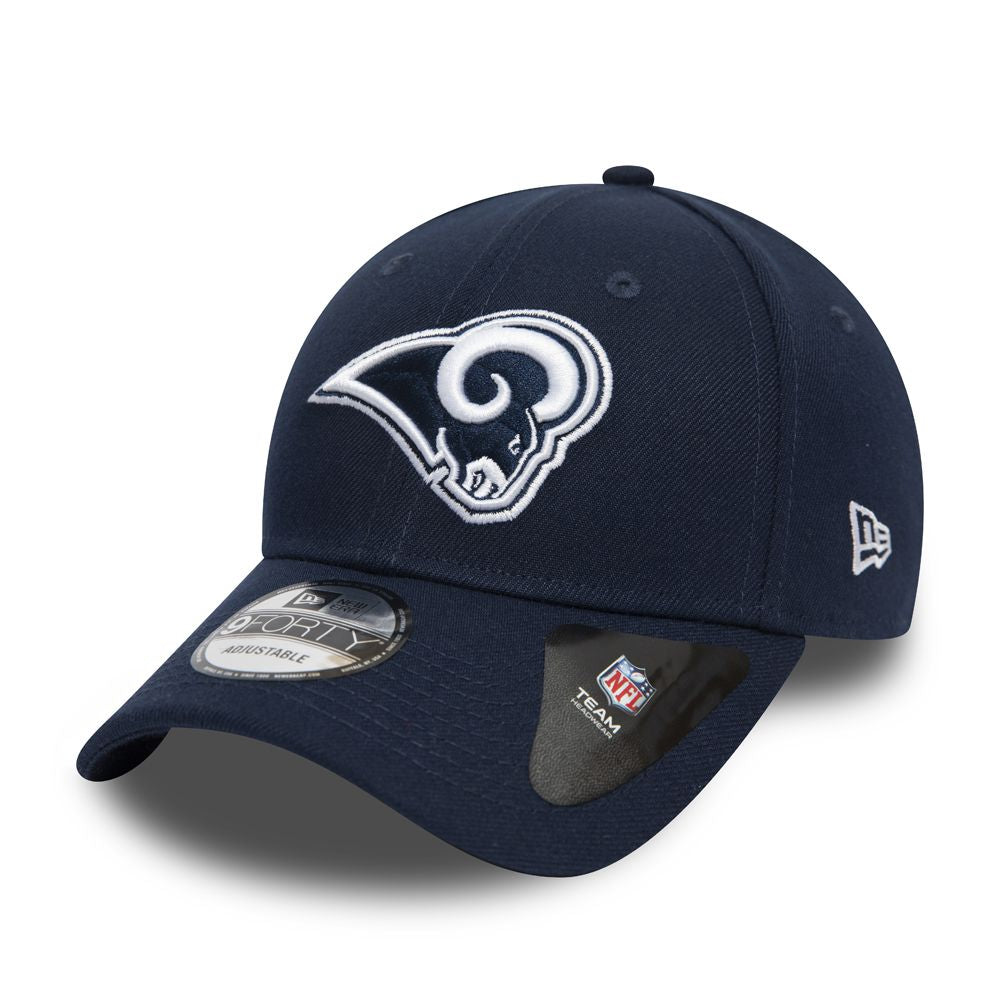Casquette New Era 9FORTY NFL Los Angeles RAMS bleu marine 11803409
